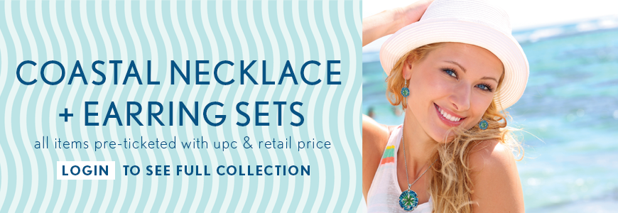 COASTAL NECKLACE & EARRING SETS