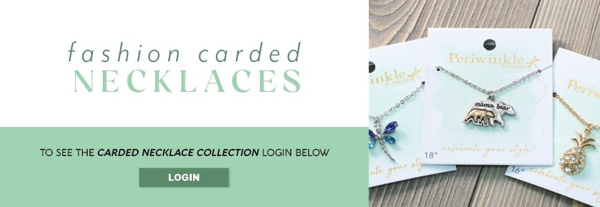 CARDED NECKLACES